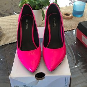 Hot Pink used heels